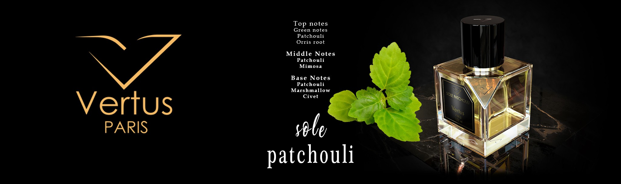Vertus Sole Patchouli